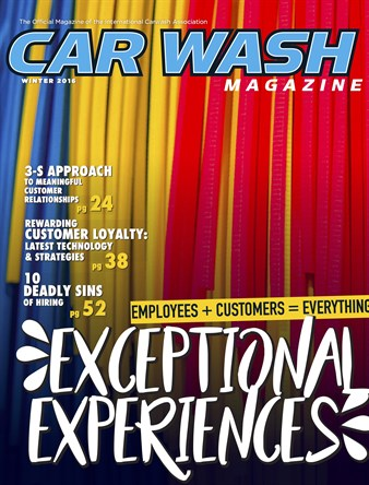 Carwash Magazine Winter 2016 Cover